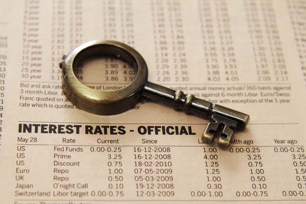 Daytona Beach real estate interest rates have risen slightly over the past couple of months.